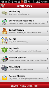 Airtel Money Uganda- screenshot thumbnail