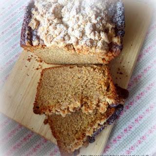 Crumb Topped Banana Bread Recipe