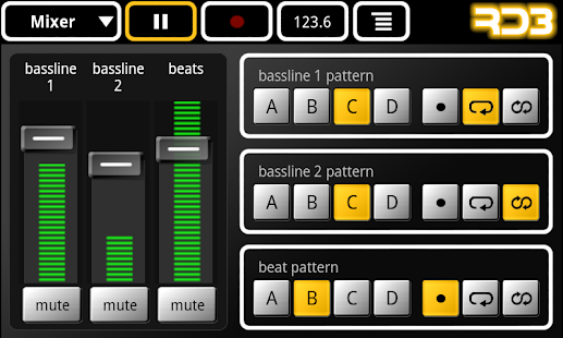RD3 Demo - Groovebox - screenshot thumbnail