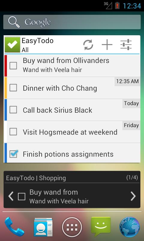 Easy Todo | Task & To-do List - screenshot