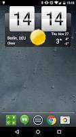 Screenshot of Sense Flip Clock & Weather