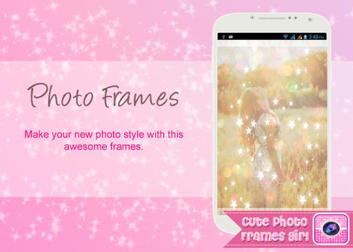 Cute Photo Frames Girl