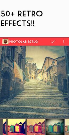 Приложение Retro camera -Vintage grunge для планшетов на Android