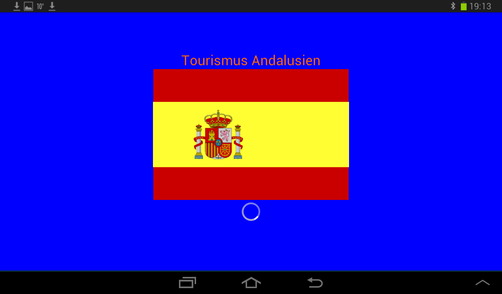 Tourismus Andalusien- screenshot