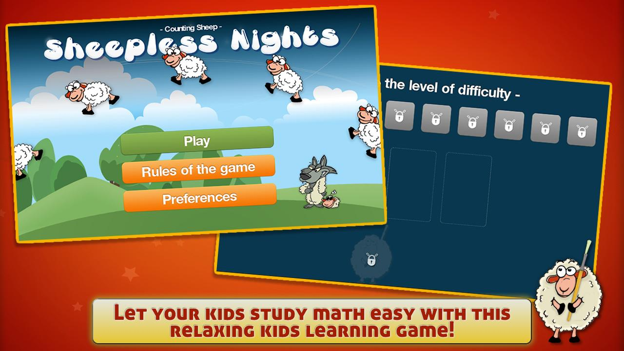 Counting Sheep for kids + - screenshot