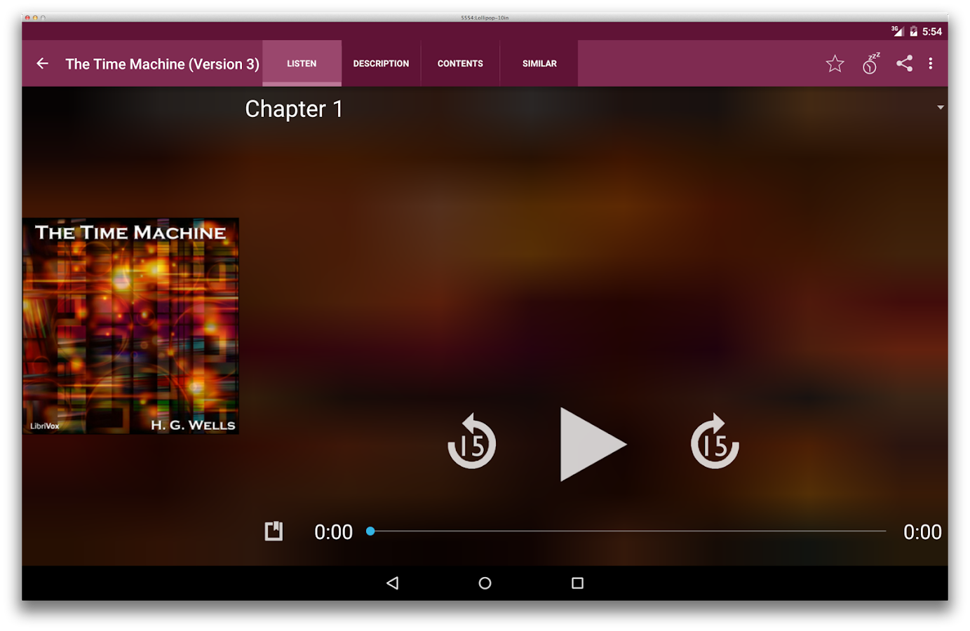 LibriVox Audio Books Free - screenshot