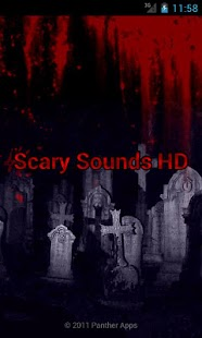 Scary Sounds HD screenshot