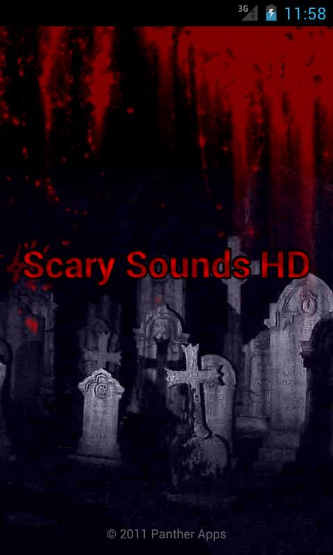 Scary Sounds HD- screenshot