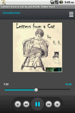 Audio book: Letters from a Cat