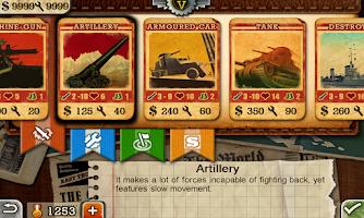 Screenshot of European War 3