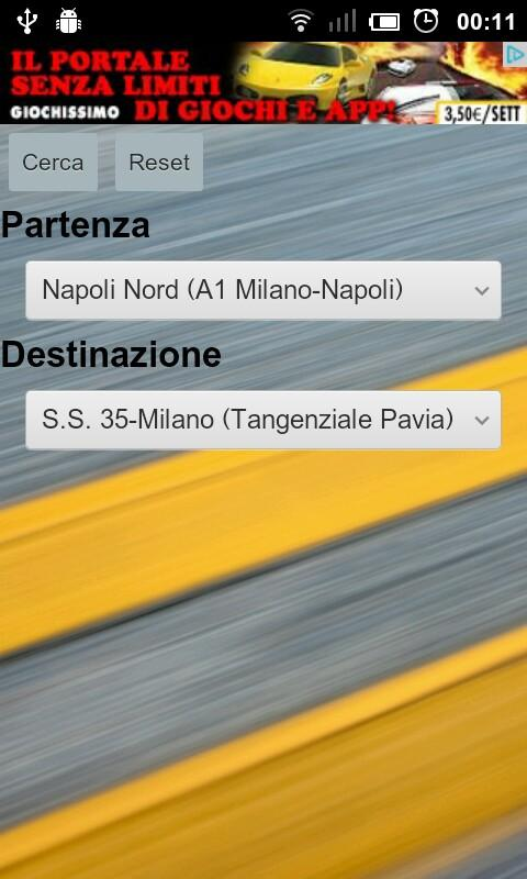 Autostrada - screenshot