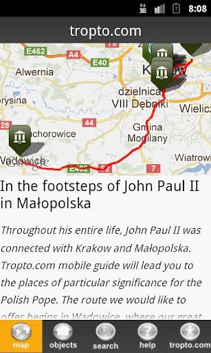 The footsteps of John Paul II