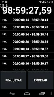 Cronómetro  y Temporizador - screenshot thumbnail