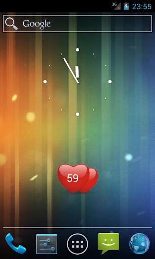 Valentine's day widget