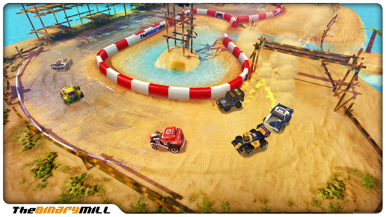 Mini Motor Racing screenshot #14