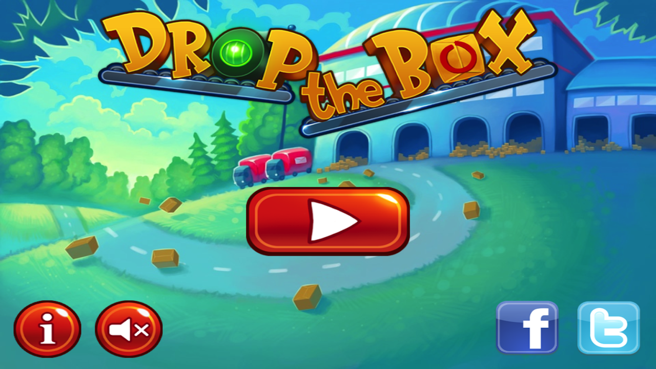 Drop the Box lite - screenshot