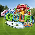 Cup! Cup! Golf3D logo