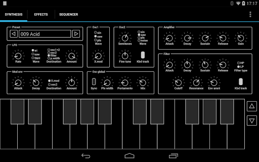 ExSynth Synthesizer
