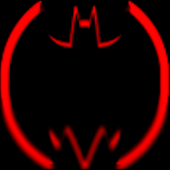 Red Batcons Launcher Icons