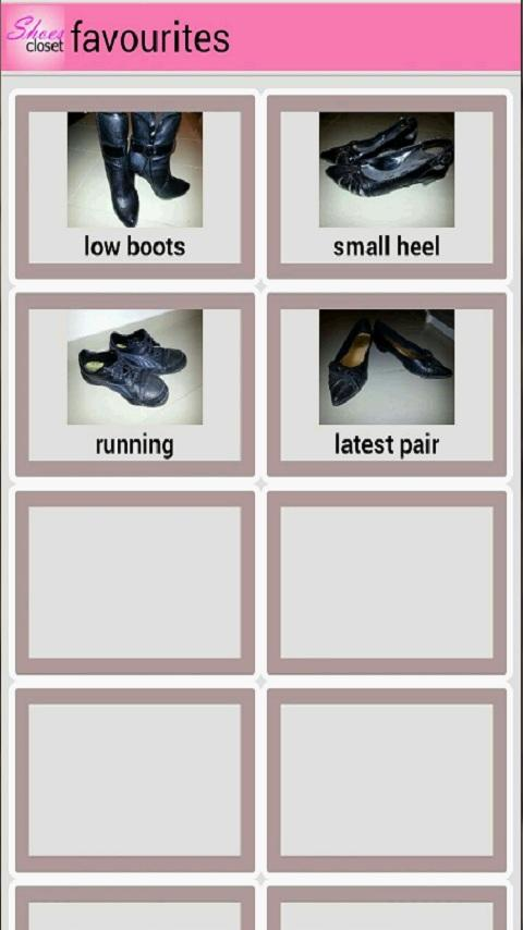 Shoes Closet - screenshot