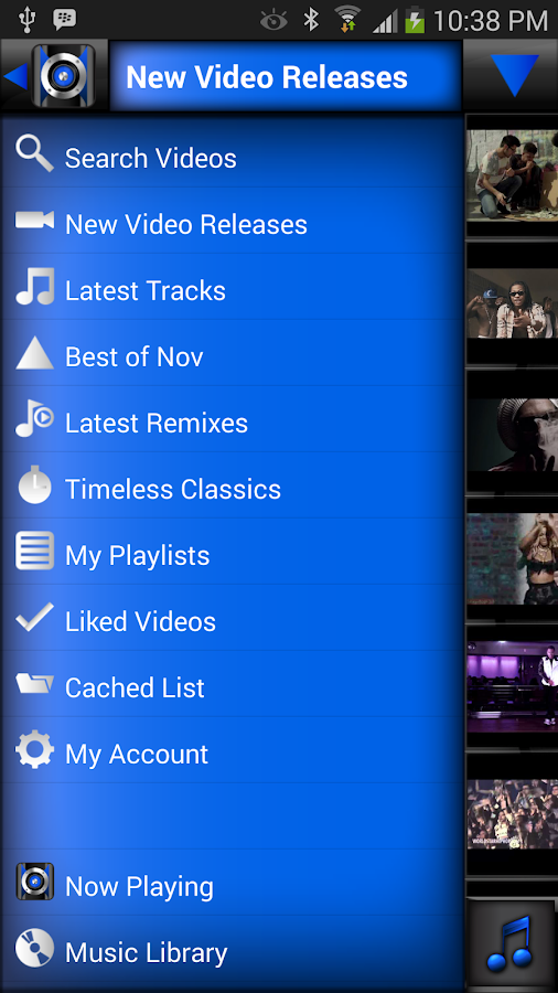 Music Player (+ YouTube) - screenshot