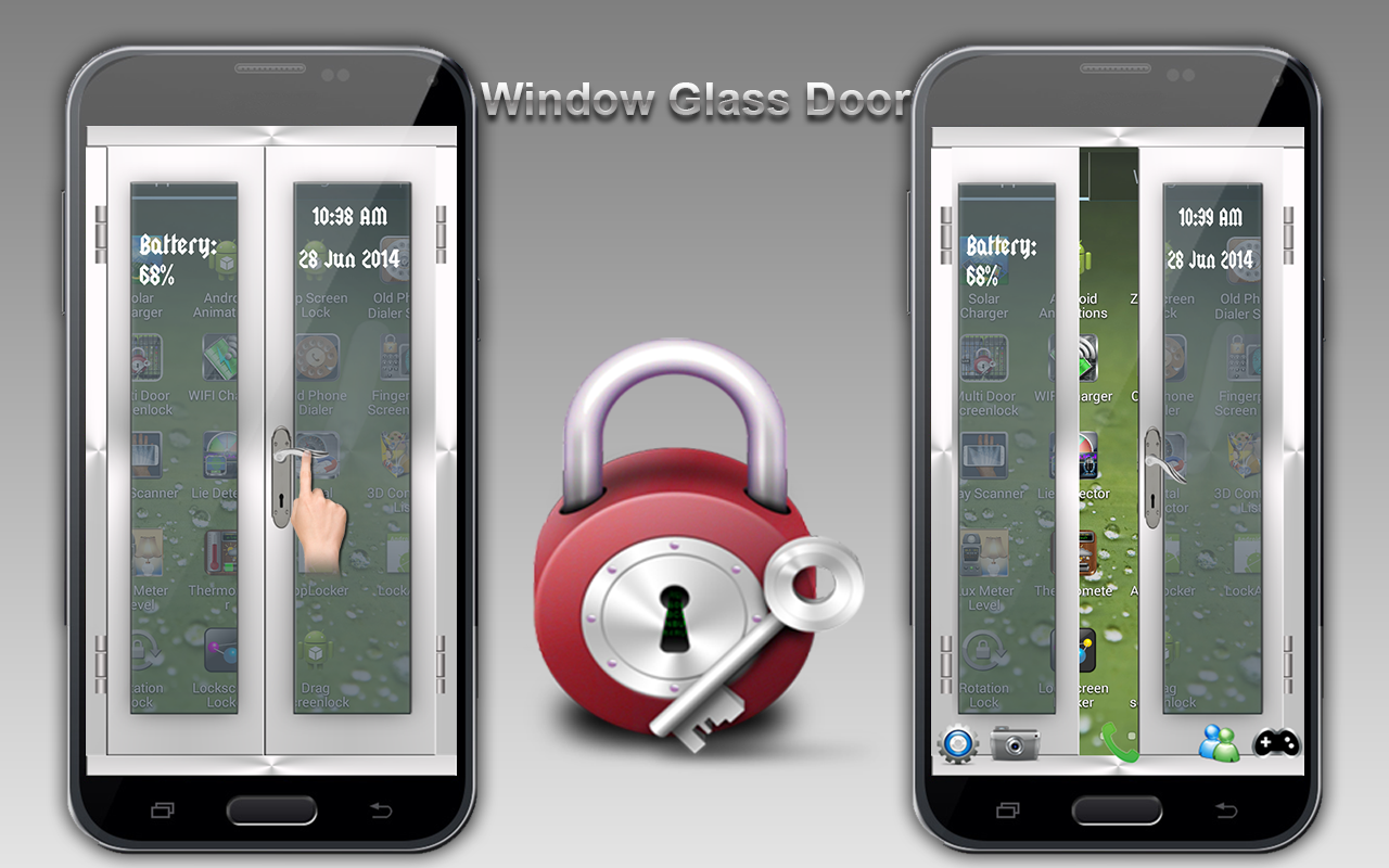 Multi Door Screen Lock - screenshot