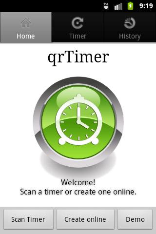qrTimer- screenshot