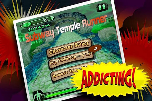 Subway Temple Runner