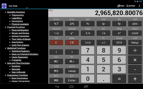 NeoCal Advanced Calculator - screenshot thumbnail