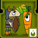 tower defense viking vs plants icon