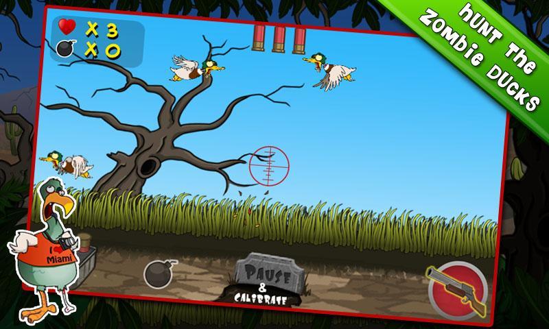 Zombie Duck Hunt- screenshot