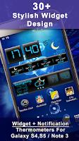 Screenshot of Weather Rise Clock 30+ Widgets