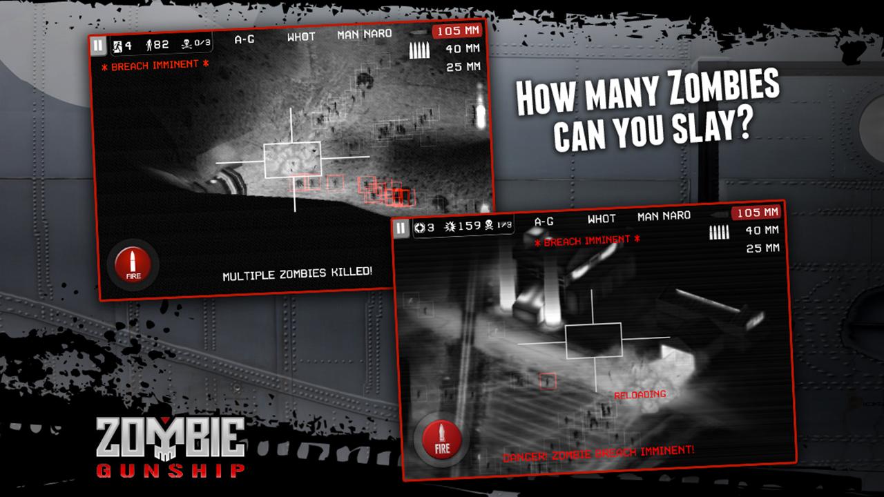 Zombie Gunship screenshot #5