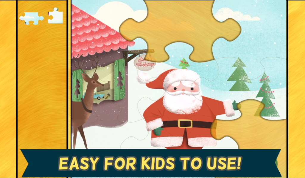Kids Christmas Games: Puzzles- screenshot