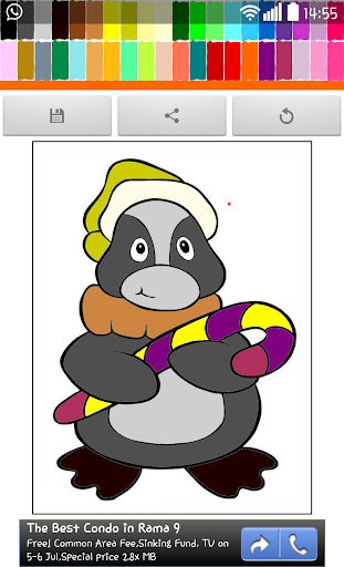 Coloring : Penguin