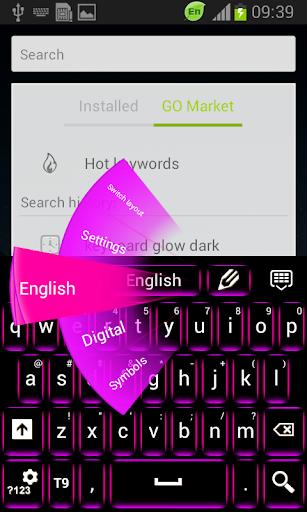 玩免費個人化APP|下載键盘夜光黑暗 app不用錢|硬是要APP