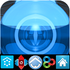 BLUE LUXURY (adw apex nova go) icon