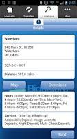 Screenshot of Biddeford Savings Mobile
