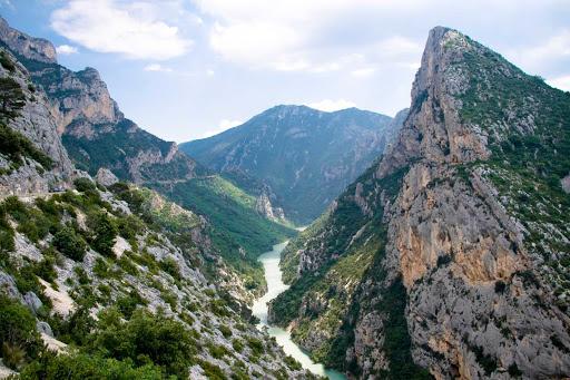 The Gorges Du Verdon near Cannes, France.