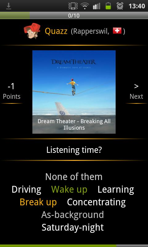Sound mate - Discover music - screenshot