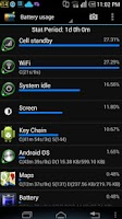 Screenshot of Battery Stats Plus Pro