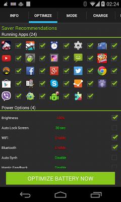 Maximize Battery Saver - screenshot