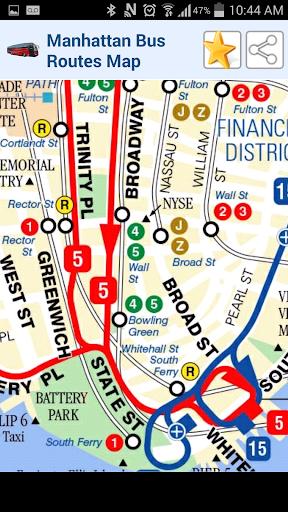 紐約市公交地圖