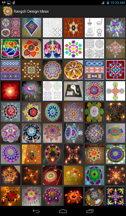 Rangoli Design Ideas Android Apps On Google Play