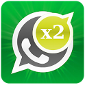 2 lines for Whatsapp icon