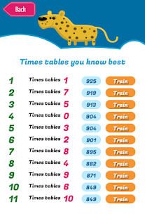Quix Times Tables- screenshot thumbnail