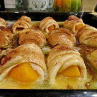 Peach Dumplings.