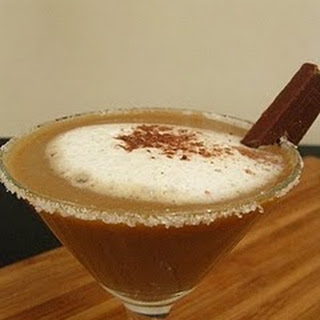 Iced Ginger Coffee Mocktail..