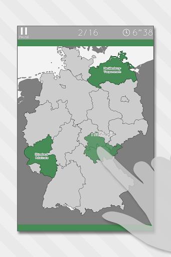Enjoy L. Germany Map Puzzle