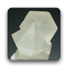 Mineral crystallogram icon